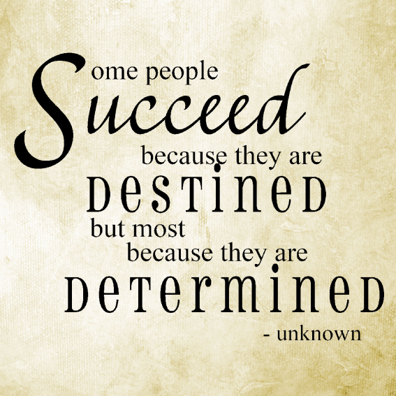 Determined-to-Succeed