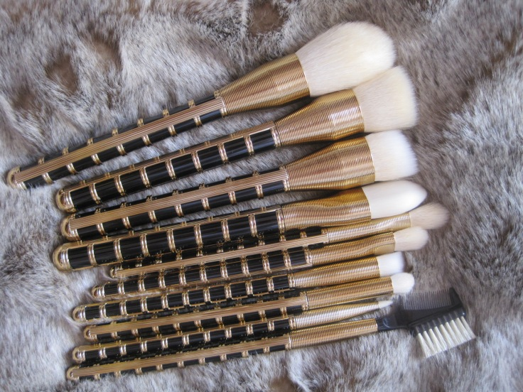 2014 Sonia Kashuk 'All That Jazz' 10 piece brush set holiday